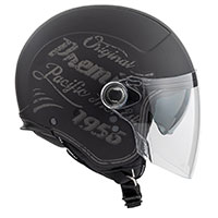 Premier Rocker Visor Or 9 Bm Helmet Black