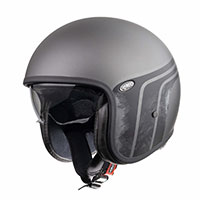 Premier Vintage Evo Btr 17 Bm Helmet Grey