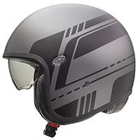 Premier Vintage Evo Bl 17 Bm Helmet Grey
