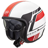 Premier Vintage Evo Bl 8 Bm Helmet White