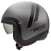 Premier Vintage Evo Do Bm Helmet Grey