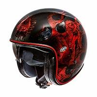 Premier Jet Vintage Evo Bd Red Chromed 2019 Helmet