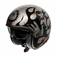 Premier Jet Vintage Evo Bd Titanium 2019 Helmet