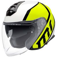 Schuberth M1 Flux Giallo Fluo