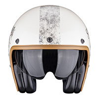 Scorpion Belfast Pique Helmet Cream Black