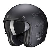 Scorpion Belfast Pique Helmet Matt Black Silver
