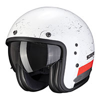 Scorpion Belfast Shift Helmet White Red