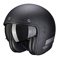 Scorpion Belfast Shift Helmet Black Silver