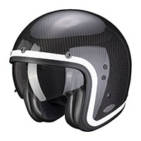 Casco Scorpion Belfast Carbon Lofty blanco