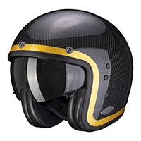 Scorpion Belfast Carbon Lofty Helmet Gold