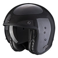 Scorpion Belfast Carbon Solid Helmet Black