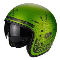 Scorpion Belfast Fender Nero-verde