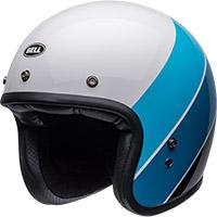 Casco Bell Custom 500 Rif Bianco Blu
