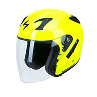 Scorpion Exo 220 Solid Yellow Fluo