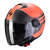 Scorpion Exo City Moda Orange Black