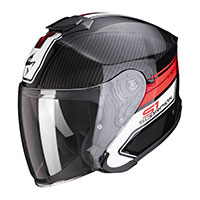Scorpion Exo S1 Cross Ville Helmet Black Red