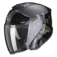 Scorpion Exo S1 Gravity Helmet Black Silver