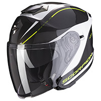 Casco Scorpion Exo S1 Shadow Nero Giallo