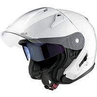 Casco Jet Sena Econo Bluetooth blanco brillo