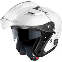 Casco Jet Sena Outstar Bluetooth blanco