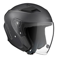 Casco Jet Sena Outstar Bluetooth negro opaco