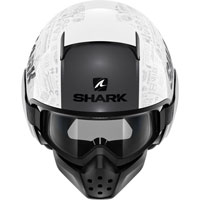 Shark Drak Tribute Rm Bianco-rosa Donna