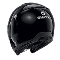 Shark Citycruiser Blank Helmet Black