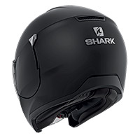 Shark Citycruiser Blank Mat Helmet Black Matt