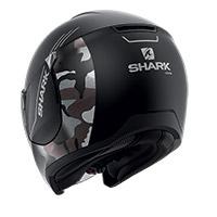 シャーク シティクルーザー バイ フード ヘルメット ブラック シルバー