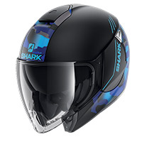 Shark Citycruiser Genom Mat Helmet Black Blue