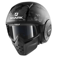Shark Drak Evok Matt Black Anthracite