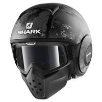 Shark Drak Evok Nero Antracite Opaco