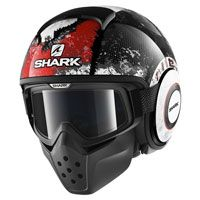 Shark Drak Evok Black Red Anthracite