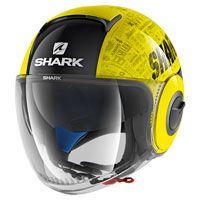 Shark Nano Tribute Rm Giallo Fluo