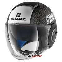 Shark Nano Tribute Rm Mat Black Matt White