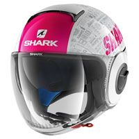 Shark Nano Tribute Rm Bianco Rosa Donna
