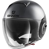 Shark Nano Street Neon Mat Helmet Grey