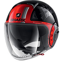 Shark Nano Tribute Rm Helmet Red