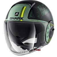 Shark Nano Tribute Mat Rm Helmet Green