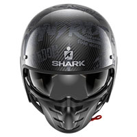 Shark S-drak Carbon Freestyle Cup Antracite