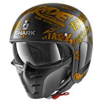 Shark S-drak Carbon Freestyle Cup Arancio
