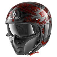 Shark S-drak Carbon Freestyle Cup Rosso