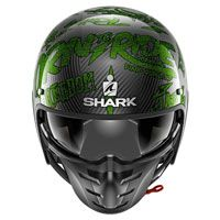 Shark S-drak Carbon Freestyle Cup Verde