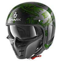 Shark S-drak Carbon Freestyle Cup Green