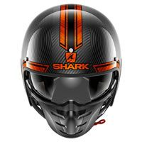 Shark S-drak Carbon Vinta Orange