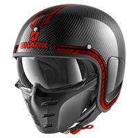Shark S-drak Carbon Vinta Red