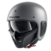 Casco Shark S-Drak 2 Blank Mat iron antracita