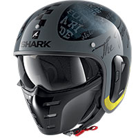 Shark S-drak 2 Tripp In Helmet Grey Yellow