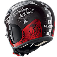 Shark S-drak 2 Tripp In Helmet Black White Red