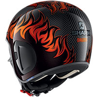 Casco Shark S-drak Carbon 2 Dagon Arancio